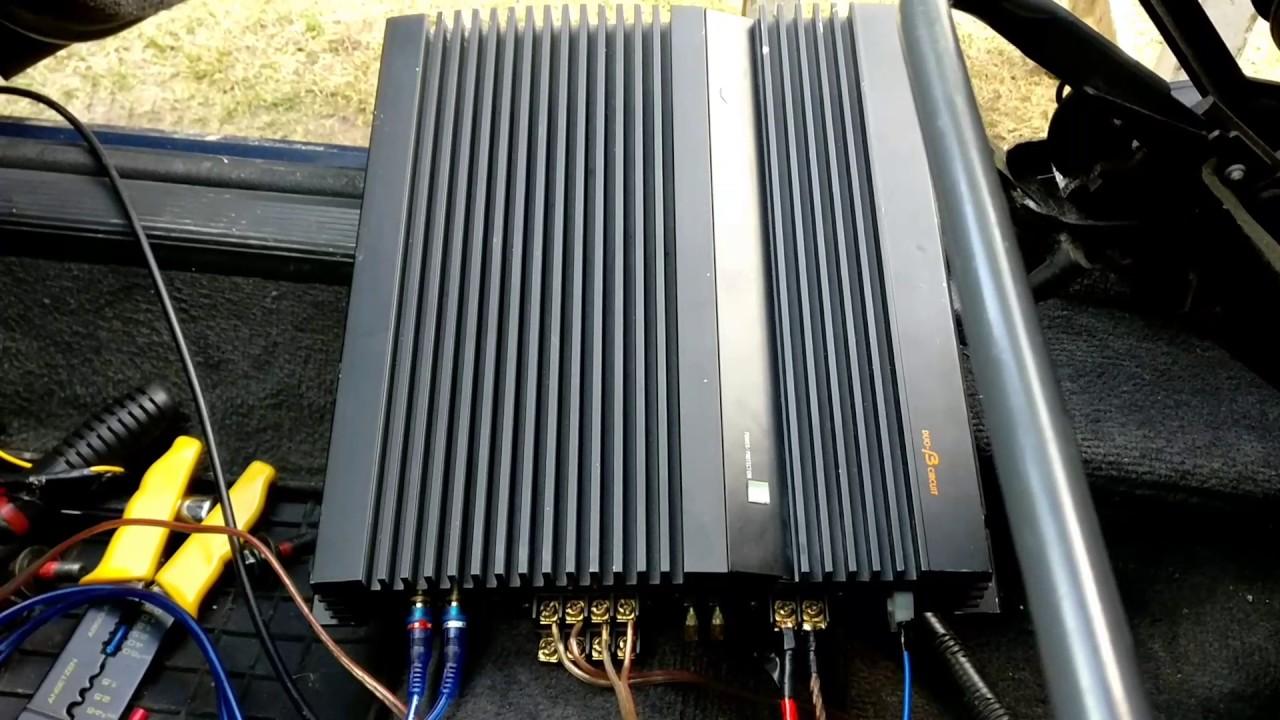 hight resolution of amp installation