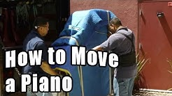 How to Move a Piano - Moving a Piano