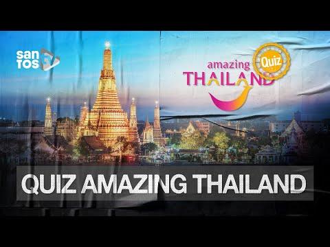 O QUE VOCÊ SABE SOBRE A TAILÂNDIA? | QUIZ DA AMAZING THAILAND EP. 01