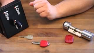 Elektronik vs. Mechatronik Schließzylinder