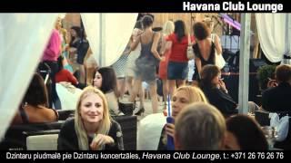 Brazil Party (DJ Гарик Мартиросян) Havana Club Lounge Jurmala 24.07.11