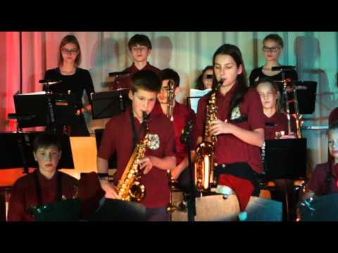 Hit the Road Jack - JUNIOR JAZZ BAND Goethe-Gymnasium Berlin (37. Jazz Night, 2015)