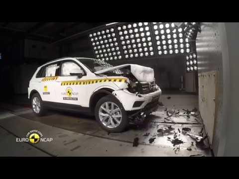Volkswagen Tiguan Second Generation (Code 5N) Crash Tests (2018 Model)