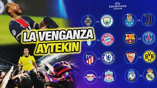 Barcelona vs PSG - CR7 vs Tecatito (Juve vs Porto) - Análisis COMPLETO Sorteo de la Champions (8vos)