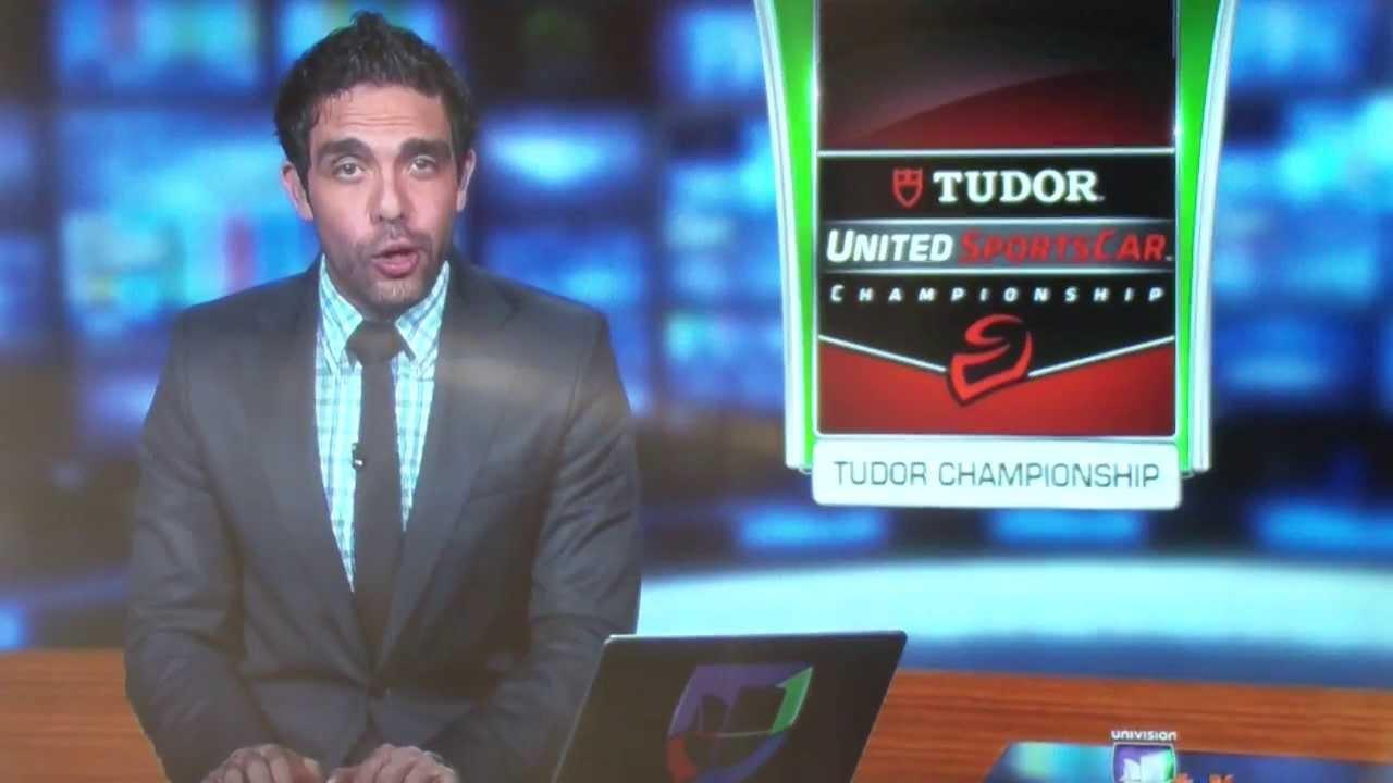 Univision Deportes & Unimas TV Networks IMSA TUDOR Championship Hispanic  national coverage
