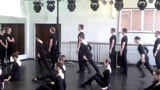 Джаз- танец отделение 'Современный танец' МОКИ, педагог Лутошкина С.А