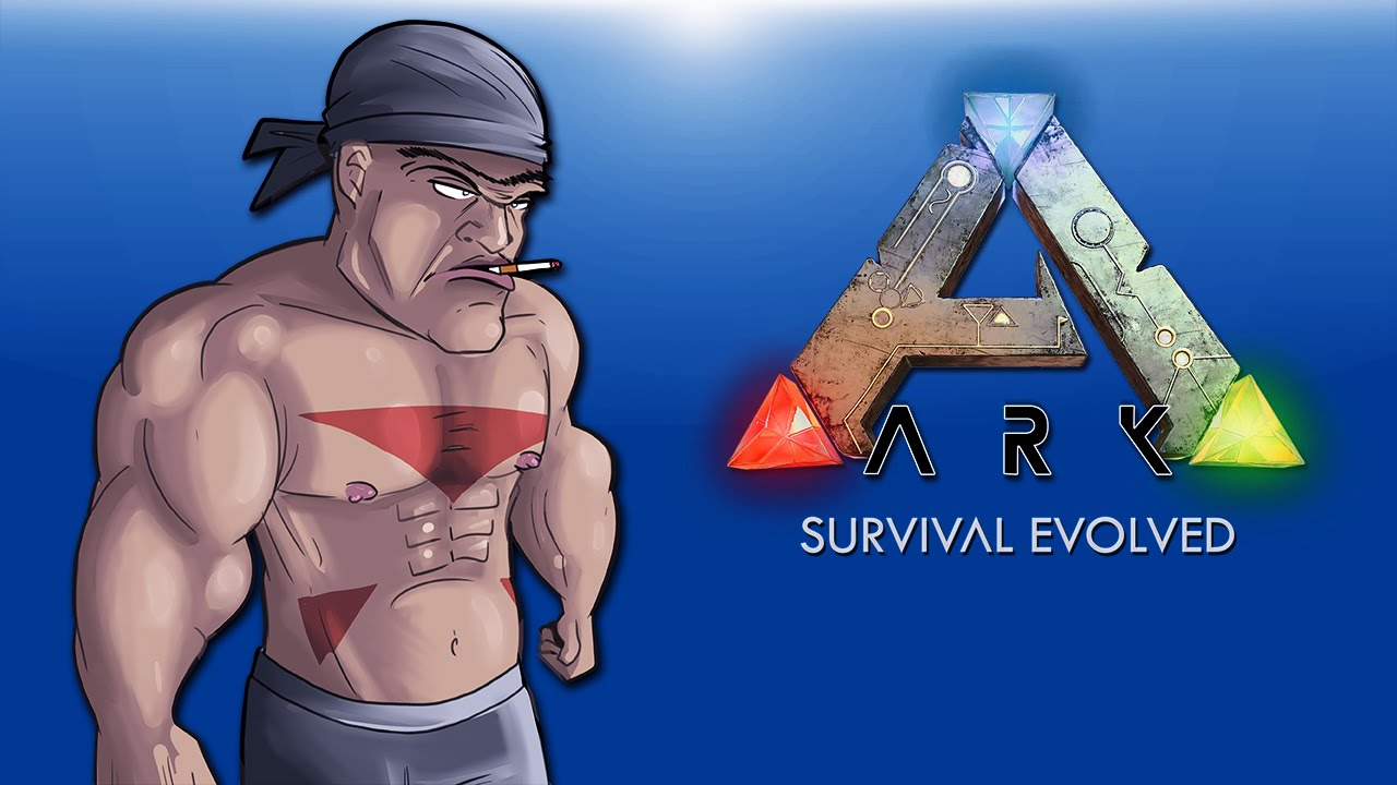 Ark Survival Evolved EP .2 (Fighting and Exploring!)
