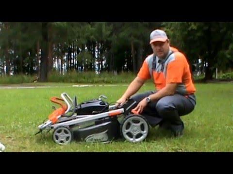Видео о газонокосилке Oleo-Mac G53TBX ALLROAD EXA 4