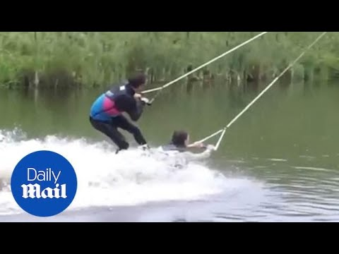 A.D. - What a Human Wakeboard Looks Like