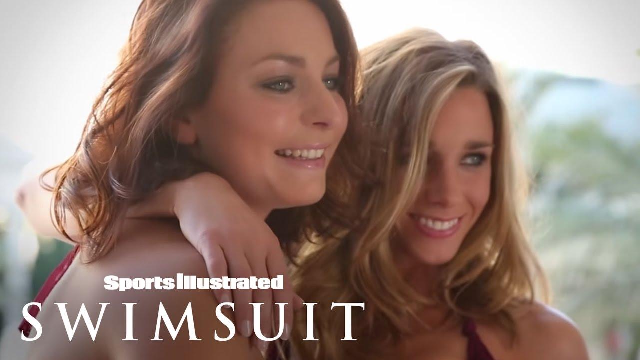 Eva de Goede & Ellen Hoog, Dutch Hockey Hotties | Sports Illustrated Swimsuit - YouTube