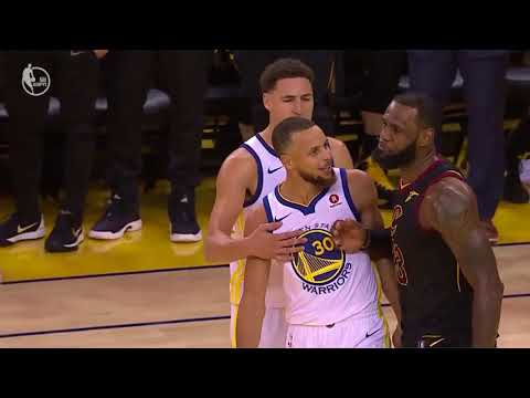 Cavaliers vs. Warriors NBA Finals Game 1 Ends with Trash Talk and Altercation