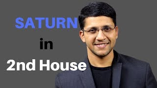 Saturn in 2nd house of birth chart