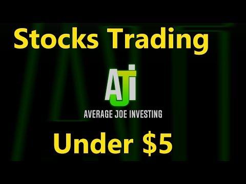 7 Stocks Under $5