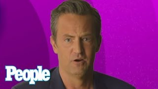 Matthew Perry Recites A Most Memorable 'Friends' Line | People
