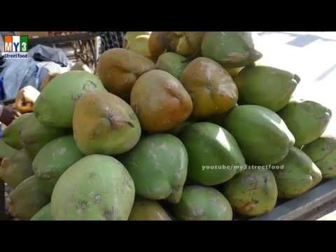 COCONUT WATER | HEALTHY STREET FOOD | STREET FOOD IN MUMBAI | PANVEL | 4K VIDEOS
