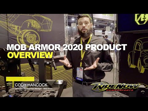 Cody With Mob Armor Showing Us Their New Mounts At SEMA 2019.
