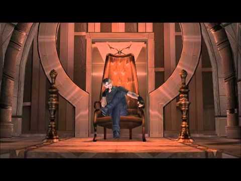 Resident Evil 4  Leon on Saddlers throne  YouTube