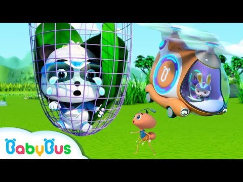 Help! Baby Panda's Trapped in the Net | Super Panda Rescue Team | Panda Cartoon | BabyBus