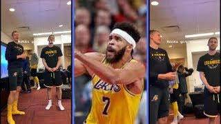 LA Laker's Rookies Have To Sing Happy Birthday To Javell McGee