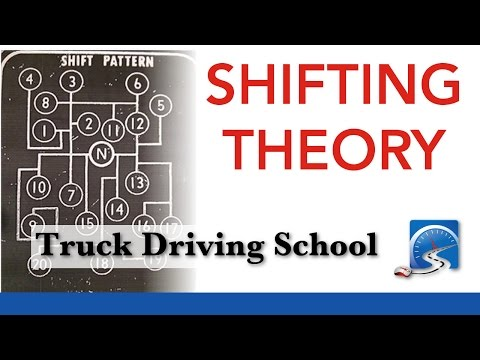 How to Shift a 9, 10, 13, 15 or 18-Speed Transmission | Truck Driving School Smart