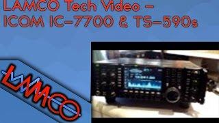 lamco tech video icom ic 7700 kenwood ts 590s