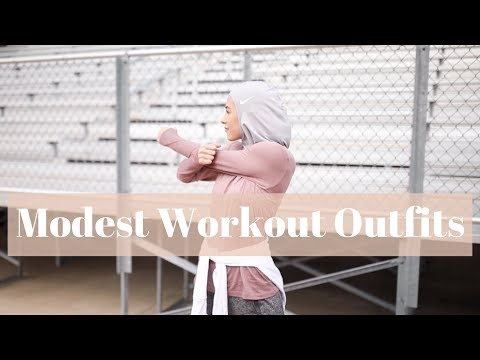 Modest Workout Clothes | My Top 5 Tips! - YouTube