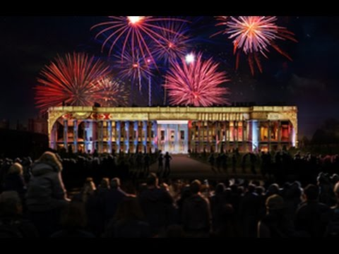 HAMPTON COURT PALACE son et lumiere show  EASTER 2015
