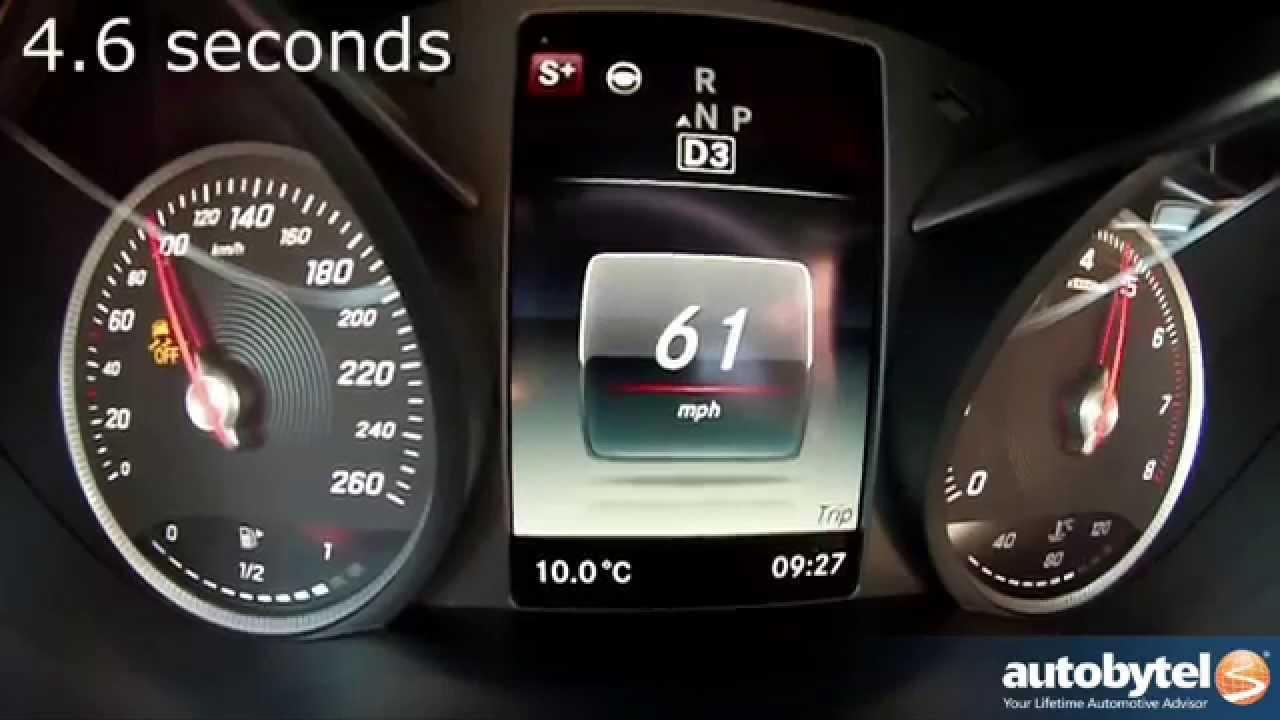 2015 Mercedes C400 0-60 Mph Test