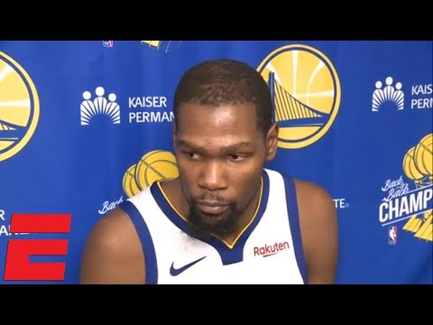 Kevin Durant on Warriors' loss vs. the Spurs, 0-3 road trip   NBA Sound