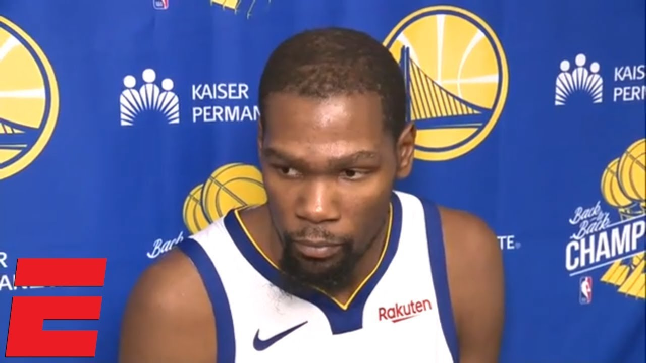 Kevin Durant on Warriors' loss vs. the Spurs, 0-3 road trip | NBA Sound