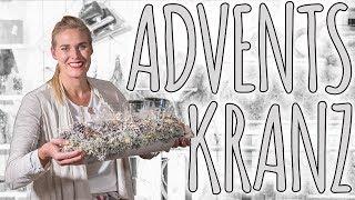 ADVENTSKRANZ - DIE EISZEIT - DIY
