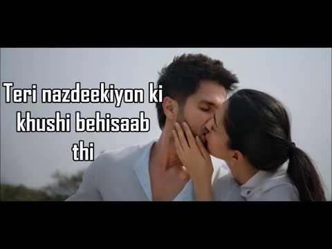 Download Bekhayali Kabir Singh Lyrics Sachet Tandon Shahid