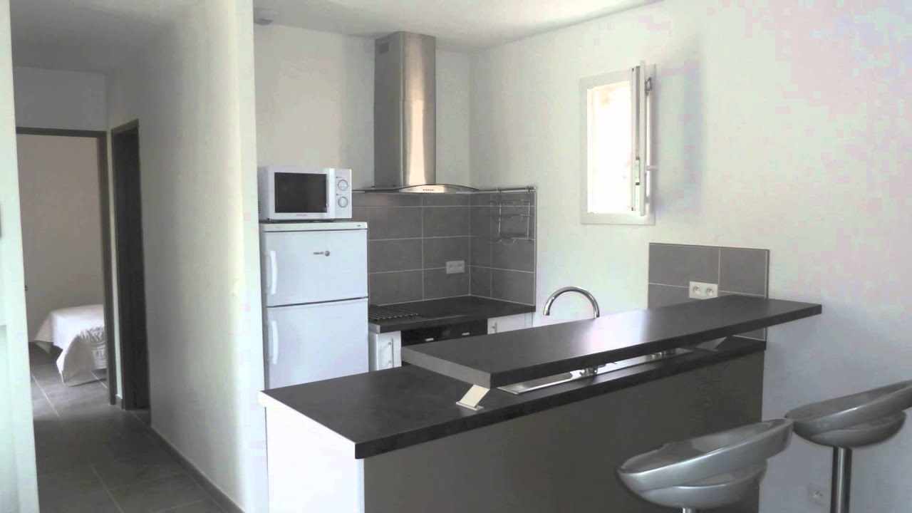 Appartement louer 2 pi ces lattes 34 40m2 youtube for Amenagement appartement 30 m2