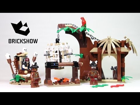 Lego Pirates 4182 The Cannibal Escape Build & Review