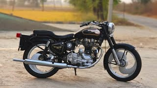 (part 285)Bullet Modified 350 standard and classic!Modified bullet in Punjab !!