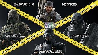 Cross-Stream Rainbow Six Siege: Выпуск 4