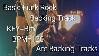 Basic Funk Rock Baking Track in Bm BPM=120