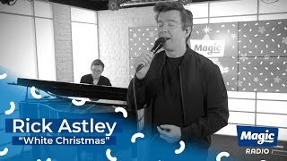 Rick Astley White Christmas | 100% Christmas on Magic Radio