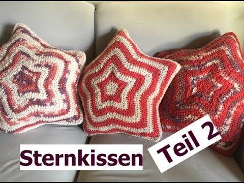 Häkeln Sternkissen Teil 2 Aus Woolly Hugs Sheep Mit Veronika Hug