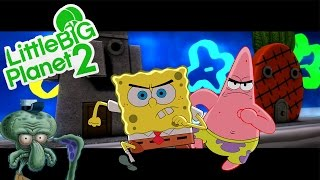Little Big Planet 2 ★ SCARY LEVELS ★ Spongebob Lost Episode (Horror)