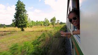Epic Train Ride From Bangkok, Thailand To Cambodia!
