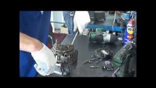 видео ремонт генератора в москве