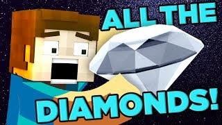 Minecraft DECODED! How Many Diamonds Exist? | The SCIENCE... of Minecraft thumbnail