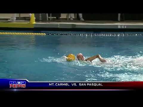 2/19/18 Girls Water Polo: Mt. Carmel 11, San Pasqual 4