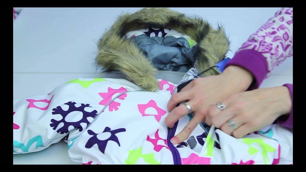 Манишка для девочки Huppa - YouTube