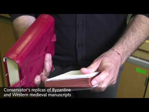 Flavio Marzo on Byzantine book bindings