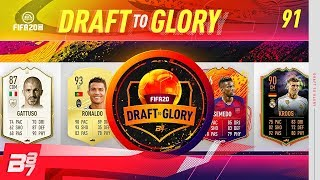 THE 2 GOATS CRUISE THE DRAFT! | FIFA 20 DRAFT TO GLORY #91