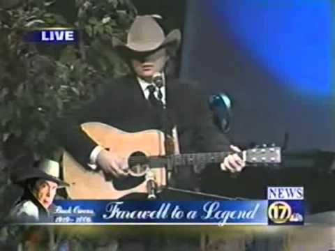 Dwight Yoakam at Buck Owens' Funeral