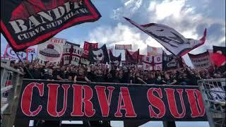 Curva Sud Milano - Banditi a Bergamo