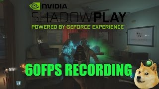 How To Record PC Gameplay 60FPS NO LAG! (Nvidia Shadowplay ) How to YouTube #2